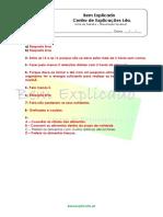 A.1.3 - Ficha de Trabalho - Alimentação saudável (2) - Soluções