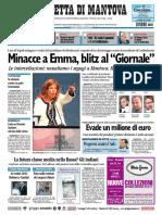 Gazzetta Mantova 8 Ottobre 2010
