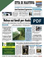 Gazzetta Mantova 16 Novembre 2010