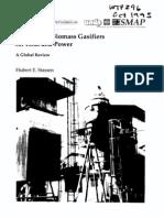 Small-Scale Biomass Gasifier