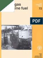 Wood Gas as Engine Fuel FAO
