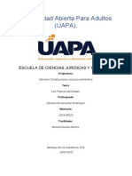 DERECHO CONSTITUCIONAL Y SUS PROC, TAREA VI JOHANNA (1)