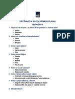 Cuestionario Biologia y 1 auxilio