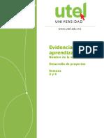 Desarrollo de Proyectos Evaluación 2 P