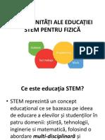 Educatia STEM