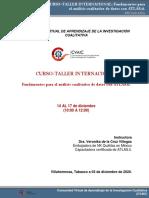 Programa Taller Atlas.ti Universidad Salamanca
