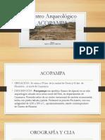 Acopampa -Cadillo Obregon Carlos.