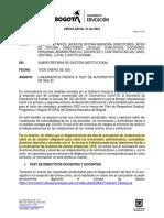 Cir sed No. 1 SGI- Test de Autoreporte de condiciones de Salud 19 1 2021