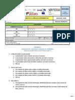 Teste Excel - UFCD 0778 - Folha de cálculo