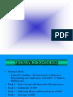 8085 Microprocessor Ramesh S. Gaonkar