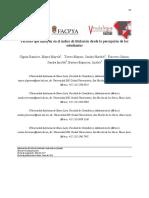 Factores que influyen la acreditación en México
