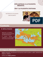 PPT FILOSOFÍA CRISTIANA