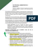 DERECHO PROCESAL ADMINISTRATIVO ll