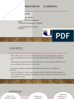OBJETIVOS DE LA DEFENSA NACIONAL DIAPOS.  1
