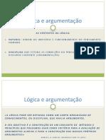 Logica e Argumentacao - Introducao