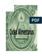 Codex Alimentario Resumen
