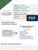 Operativo Nacional de vacunación COVID-19