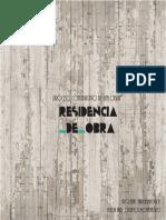 Proceso constructivo de una obra - residencia de obra