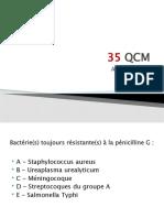 QCM bactério