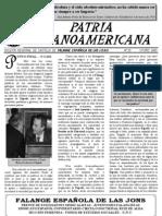 Patria Hispanoamericana 25