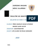 MONOGRAFIA SELLANTES DE FOSAS Y FISURAS