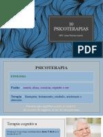 9 psicoterapias
