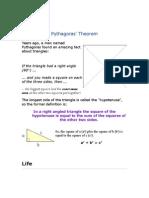 Pythagoras Thorem