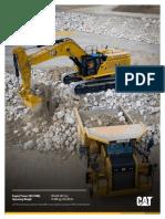 Cat 374 Next Gen Excavator Brochure