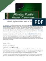 2014-01-20 - APT - Mistaken Rabbis