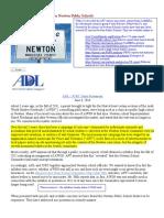 2014-06-06 - ADL-JCRC Joint Statement on Newton Public Schools
