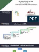 Matematicas Financieras TUTORIA 1