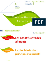 Biochimie Alimentaire