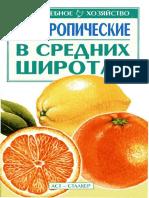Греков С.П. Субтропические в средних широтах. М., Донецк. 2002-1