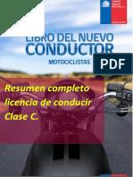 Resumen Licencia Clase C