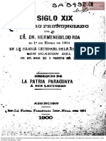 Siglo 19 por El Dr. Hermenegildo Roa