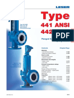 High Performance Type 441 & 442 ANSI