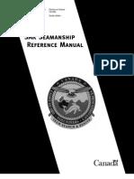 SAR Seamanship Reference Manual