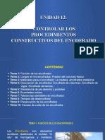 Controlar Los Procedimientos Constructivos Del Encofrado