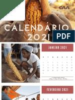 Calendário 2021 - CAA