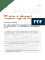 Analyse juridique de l'ANIL PTZ