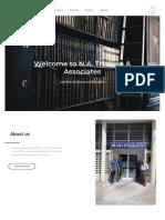N.A Tribiana & Associates (Law Firm Profile Sample)