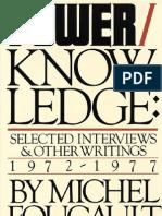 Foucault+-+Power-Knowledge