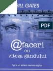 Bill Gates - @faceri cu viteza gandului OCR