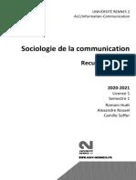 Recueil de Textes Sociologie 2020 2021 (1)