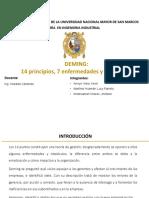 DEMING-14 PRINCIPIOS-7 ENFERMEDADES-OBSTÁCULOS