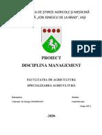 Costel Diaconu - proiect management  grupa 119