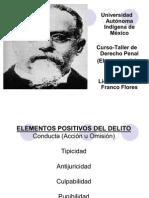 CURSO DE DERECHO PENAL(ELEMENTOS DEL DELITO)