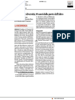 Teatri delle diversità, dieci anni dalla parte dell'altro - Il Corriere Adriatico del 24 gennaio 2021