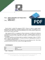 DHT11 Datasheet Ita