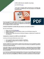Comment Transformer Le Code WiFi en QR Code Pour Simplifier Son Partage